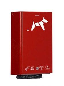 Installation de distributeurs de sacs canins